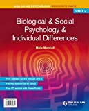 Biological and Social Psychology and Individual Differences, Molly Marshall and Cara Flanagan, 0340972858