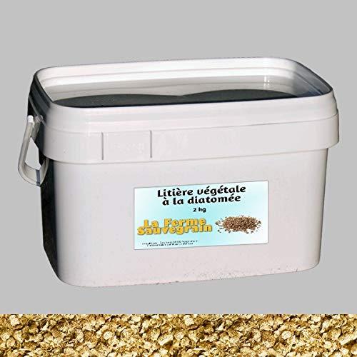 Litière à la diatomée - Anti-puces Anti-poux - 2 kg La Ferme Sauvegrain