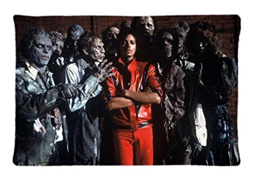 [Michael Jackson Thriller Custom Decorative Throw Pillow Covers Modern Throw Pillow Cases 20X30 Inch] (Michael Jackson Decorations)