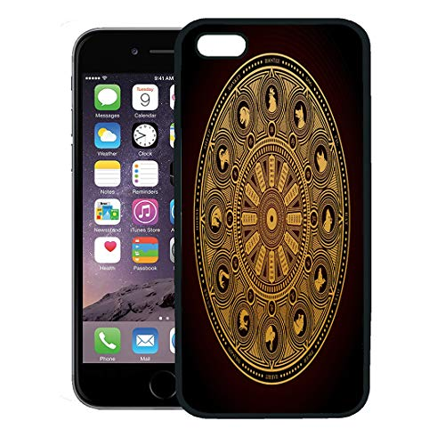 - Semtomn Phone Case for iPhone 8 Plus case,Horoscope Chinese Zodiac Wheel of Years and Animal Silhouettes Dog Dragon iPhone 7 Plus case Cover,Black