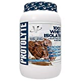 VMI Sports ProtoLyte 100% Whey Isolate Protein Powder, Chocolate Fudge Cookie, Zero Sugar with added Electrolytes & Enzymes, 1.63lb