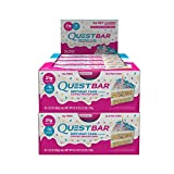 quest bar flavors - Quest Nutrition Protein Bar Birthday Cake. Low Carb Meal Replacement Bar w/ 20g+ Protein. High Fiber, Soy-Free, Gluten-Free (24 Count)
