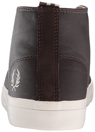 Fred Perry Fp Vernon Mid - - Hombre marrón chocolate