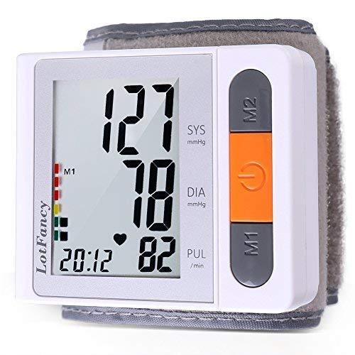 LotFancy Blood Pressure Monitor, Digital Sphygmomanometer, 1