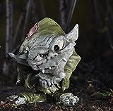 Ollie the Troll Fairy Garden