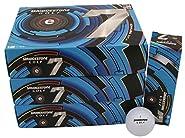 6 Dozen Bridgestone e7 Pure Distance 72 Golf Balls - White