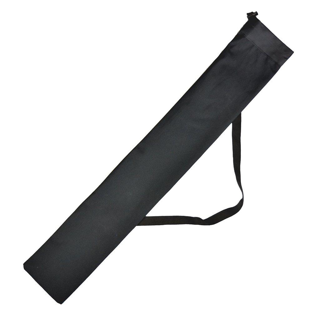 WINOMO port/átil plegable Alpenstocks Sticks bolsa de bolsa de almacenamiento funda de transporte para bast/ón Trekking bastones de trekking