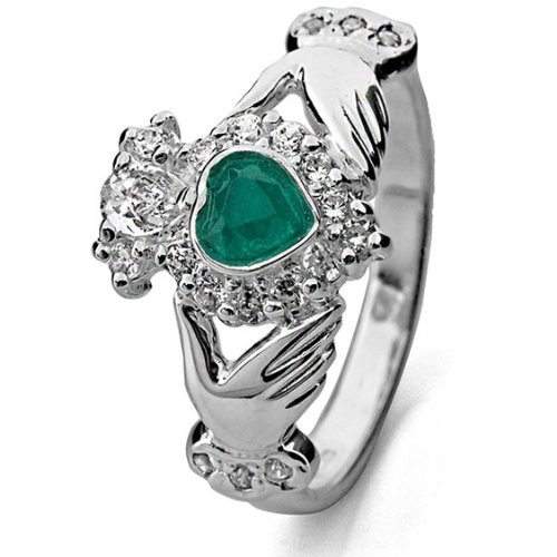 Claddagh Ring LS-RS971 - Size: 6.5 Made in Ireland.