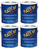 Plasti Dip Performix 10101013S-4PK Gunmetal Grey Spray - 1 Gallon, (Pack of 4)