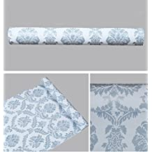 Peel and Stick Decorative Contact Paper Wallpaper Self Adhesive Vinyl Shelf Drawer Liner for Kitchen Cabinets Sheves Drawer Wall Decal (24x197 Inches)