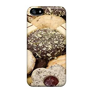 Iphone 5/5s MZzLK5752bWImG Cookies Yum Tpu Silicone Gel Case Cover. Fits Iphone 5/5s by supermalls