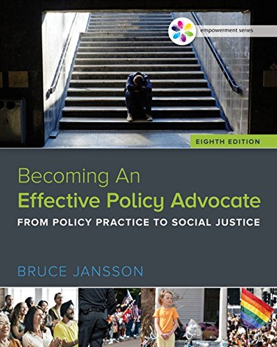 Empowerment Series: Becoming An Effective Policy Advocate (MindTap Course List)