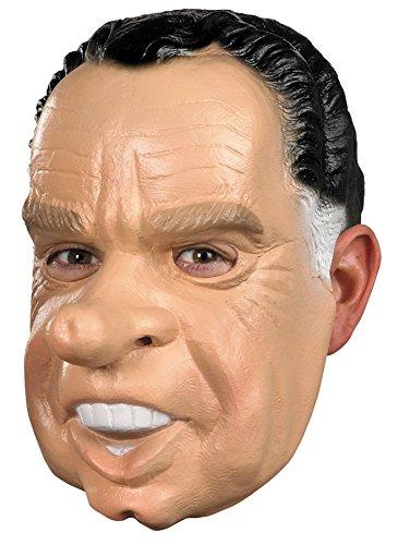 UHC Men's Richard Nixon Political Funny Party Vinyl Halloween Costume Mask