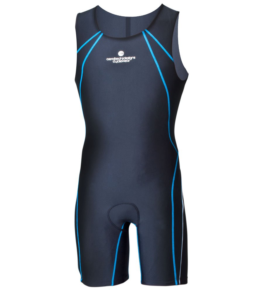 Aero Tech Designs Triathlon Competition Skin Suit (4XL, Black)