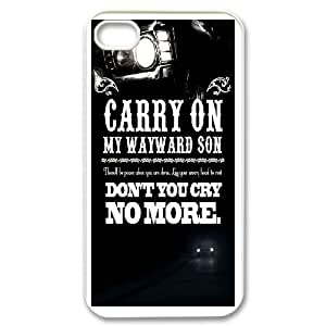 Cell Phone case carryon my wayward son Cover Custom Case For iPhone 4,4S MK9Q703374