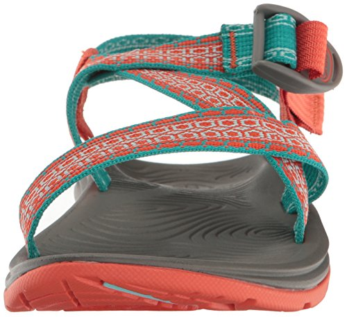 Chaco Frauen Zvolv Athletic Sandale Camino Orange
