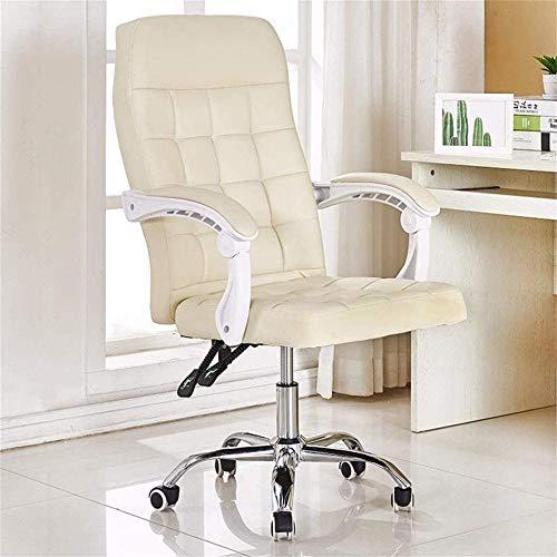 Stolar mitten av ryggen kontorsstol dator skrivbord stol svängbar fuskläder stol komfort ergonomiska fåtöljer knästol