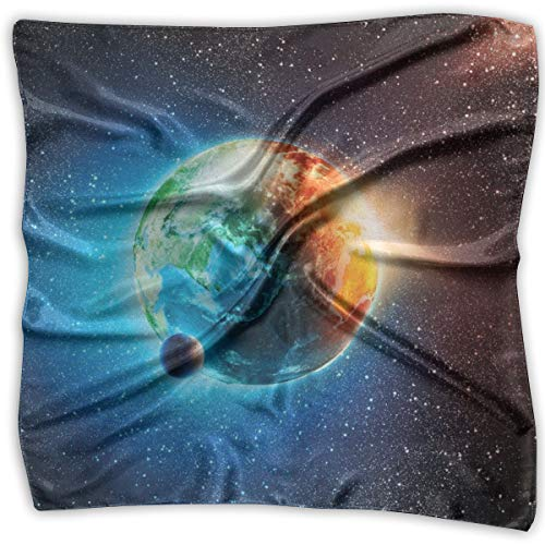 Bandana Head and Neck Tie Neckerchief,Majestic Galaxy Outer Space View Universe With Planet Earth Stars Astral (Best Army Universe Headbands)
