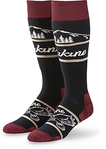 Dakine Mens Socks - Dakine Men's Freeride Socks, Black, S/M