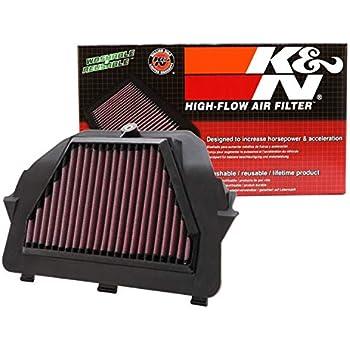 K/&N YA-6009 Hi-Flow Air Intake Drop in Filter for 2009-2017 Yamaha FZ6R XJ6