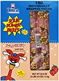 Sour Power Strawberry, Individually Wrapped Belts, 150 Wrapped Belts, 52.9 Ounce