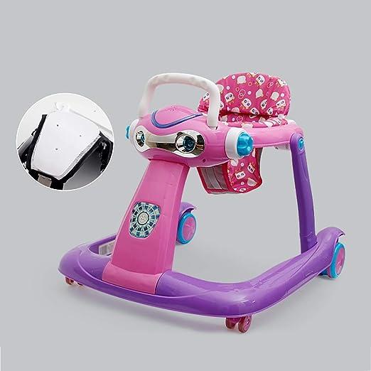 LFY Andadores para bebés, 6-24 Meses El antivuelco Plegable para ...