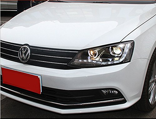GOWE Car Styling For vw jetta headlights For VW jetta MK6 head lamps with LED guide car styling bi xenon lens parking Color Temperature:6000K;Wattage:35K 2