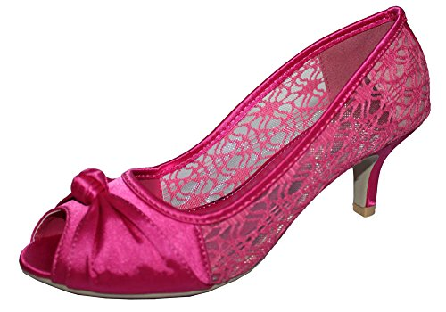 Fuschia Feet Chic Hot Pink Sandales Pour Femme fRAqw7pv