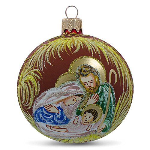 Holy Family Christmas Ornament - 3