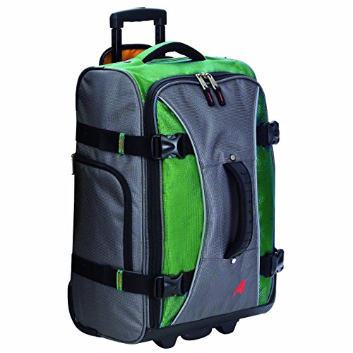 Athalon Luggage 21 Inch Hybrid Travelers Bag, Grass Green, One Size