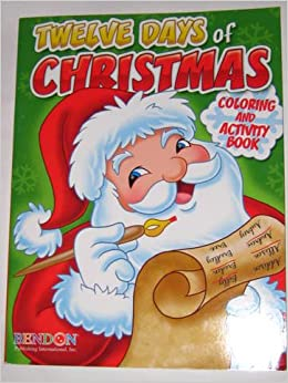 Christmas Coloring & Activity Book: Bendon: 9781601399427: Amazon ...