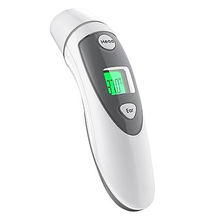 Termómetro digital profesional a infrarrojos, para tomar la temperatura en frente y oí