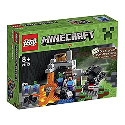 LEGO Minecraft 21113 The Cave: Toys & Games