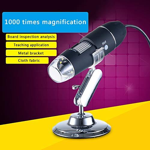 Mokylor Mega Pixel 1000X8 LED Digital USB Microscope Magnifier Electronic Stereo USB Endoscope Camera