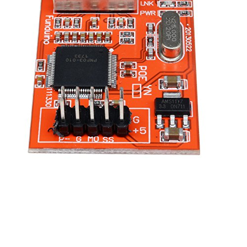 diymore Mini W5100 LAN Ethernet Shield Network Board Module for Arduino Ethernet UNO Mega 2560 by diymore (Image #4)