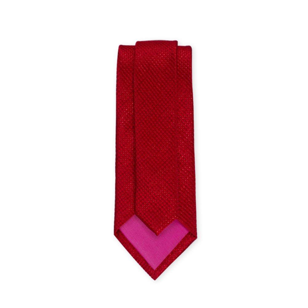 Casual tie//red fashion tie