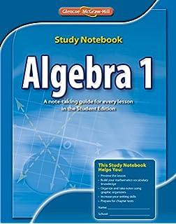 Glencoe algebra 1 homework practice workbook answer key