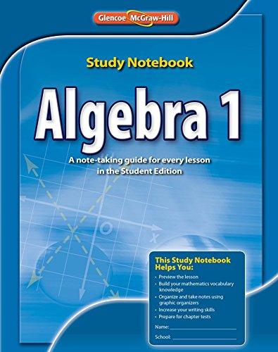 Algebra 1 Study Notebook (MERRILL ALGEBRA 1)