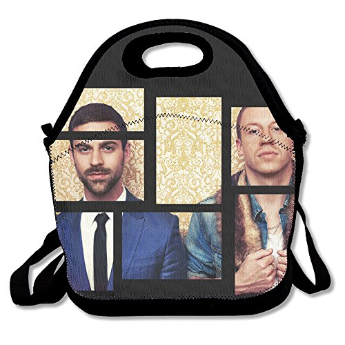 Macklemore & Ryan Lunch Box Bag For Kids And Adult,lunch Tote Lunch Holder With Adjustable Strap For Men Women Boys Girls,This Design For Portable, Oblique Cross,double - Rapper Ryan