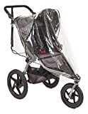 Sashas''Peekaboo Friendly Series'' Rain and Wind Cover for BOB Revolution Flex Single Jogging Stroller