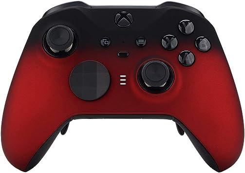 Shadow Red - Mando a Distancia Compatible con Xbox One Elite Series 2 (Tacto Suave), Color Rojo: Amazon.es: Electrónica