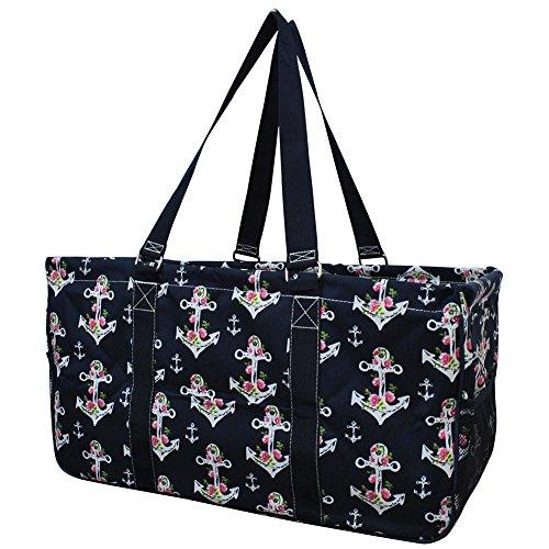 Rose Anchor NGIL Utility Tote Shopping Bag