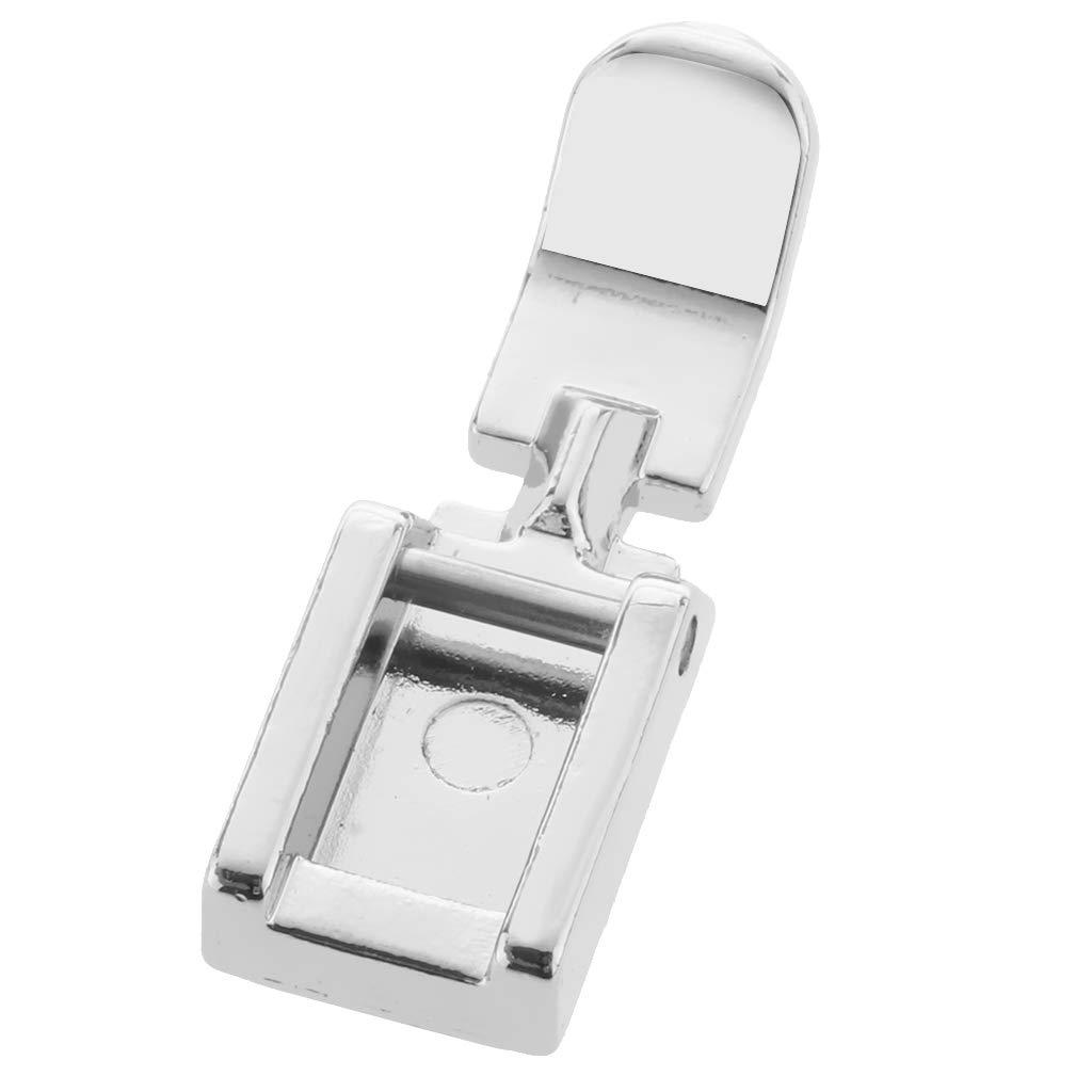 SM SunniMix Universal Zipper Foot Presser Feet Fits for Domestic Sewing Machines