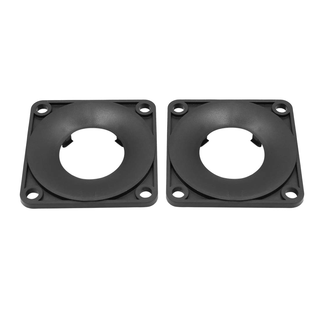 uxcell Pair Black Triangle Car Speaker Trim Cover Tweeter Protector for Nissan Teana