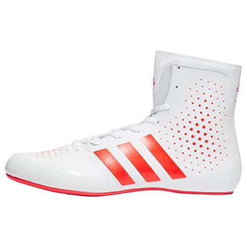 9f0d3bd064571b adidas KO Legend 16.2 Mens Boxing Trainer Shoe Boot White Red - US 12