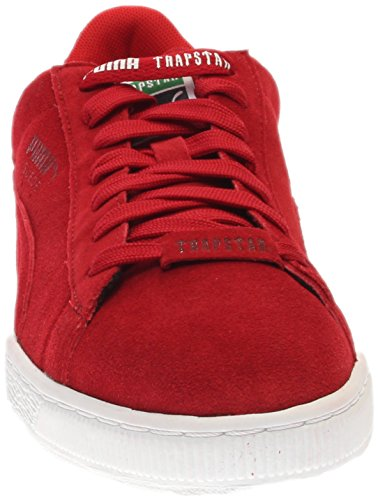 real cheap price Puma Suede X Trapstar Mens Shoes Barbados Cherry/White 361500-02 (11.5 D(M) US) 2014 newest sale online D7Ax2SJtK