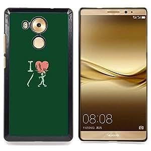I Love Shotgun Zombie - Funny Caja protectora de pl¨¢stico duro Dise?ado King Case For Huawei Mate 8