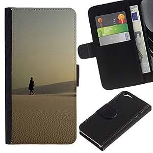 Be Good Phone Accessory // Caso del tirón Billetera de Cuero Titular de la tarjeta Carcasa Funda de Protección para Apple Iphone 6 4.7 // Nature Beautiful Forrest Green 123