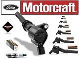 Set of 8 Motorcraft Ignition Coil DG-508 and 8 Motocraft Spark Plug SP-413