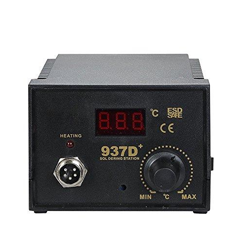 937D+ ESD Soldering Rework Station Digital Adjustable Welding Solder SMD Tool by Sunbizpro (Image #2)